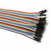 Upjaks Erkek Erkek Jumper Kablo 40 Adet 20 Cm Arduino