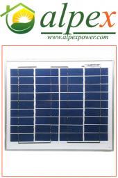 10 Watt Polikristal Güneş Paneli