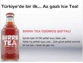 Bırr Tea Gaza Gelmiş Ice Tea Şeftali 250 Ml Cam Şi...