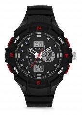 Watchart Dijital + Analog Suya Dayanıklı Kol Saati...