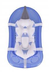 Sevi Bebe Bebek Banyo Hamağı Küvet Filesi Art 572 Mavi