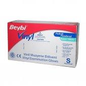 Beybi Vinyl (Vinil) Pudralı Beyaz Eldiven 100lü...