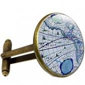 Altın Kuğu Map Kol Düğmesi-3