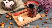 Ahşap Çay Ve Kahve Sunum Tahtası