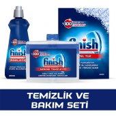 Finish Temizlik Ve Bakım Seti Tuz+parlatıcı+makine Temizleyici