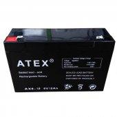 Atex Ax 6v 12ah Bakımsız Kuru Akü