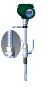 Termal Kütle Daldırma Tip Debimetre Dn50 Dn100