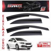 Fiat Linea 2006-2016 1.Kalite Kırılmaz Sport Oto Cam Rüzgarlığı