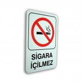 Pvc Uyarıcı Levha Sigara İçilmez 16*24 Cm