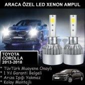 Toyota Corolla Araca Özel Led Far Ampulü Uzun...
