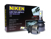 Niken Led Xenon Set Ampul H4 6500k