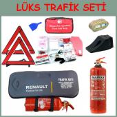 Araç Logolu Trafik Seti 4 Yıl Tüvtürk Muayeneye Uygun