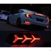 Honda Civic Fc5 Ledli Arka Sis Yeni Model Sinyalli