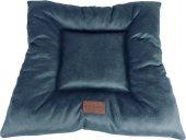 Wowpaw Luxury Mavi Kare Küçük Irk Kedi Köpek Yatağı