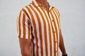Vintage Giyim Erkek Hardal Sarısı