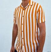 erkek hardal sarısı gömlek-2