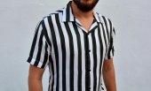 erkek çizgili gömlek 2019-2
