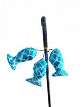 Eastland 3 Balıklı Kedi Oltası 50 Cm Mavi