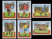 Pulko History 1970 Gine Cumhuriyeti 1998 Spor (Futbol) Temalı Pul Koleksiyonu