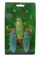 Eastland Plastik Köpek Diş Kaşıma Oyuncak 3 Lü 7,5 Cm
