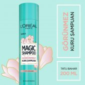 Loreal Tatlı Bahar Magic Shampoo Görünmez Kuru Şampuan 200ml