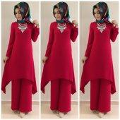 9019 K15 Kırmızı Renk Ayrobin Yeni Takım