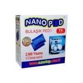 Bulaşık Yıkama Pedi 2 Adet Nano Ped 2000 Yıkama Organik Bulaşık Makine Yıkama Pedi