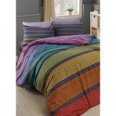 MCO tekstil Majoli Linea Çift Kişilik 4 Parça Nevresim Takımı