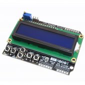 Arduino Lcd Keypad Shield 1602 16x2 Lcd Ekran Ve Tuş Takımı