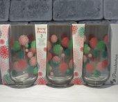 Paşabahçe Spring Flowers 3 Lü Meşrubat Bardağı 420015