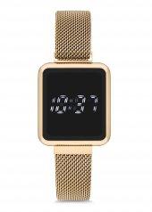 Spectrum Mıknatıslı Hasır Kordon Dijital Unisex Saat Uh1sp220096