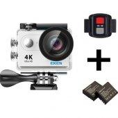 Eken H9R 4K Ultra Hd Wifi Aksiyon Kamera + Yedek Batarya – Gümüş