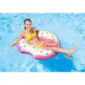 Intex Şişme Eğlenceli Donut Can Simiti 107x99cm...