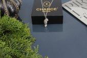 İtalyan Tasarım Pırlanta Çelik Gümüş Altın Panter Leopar Kolye
