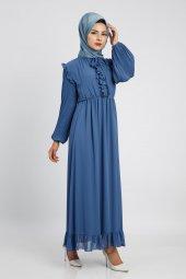 Loreen Kadın İndigo Elbise 22120