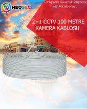 2+1 CCTV AHD KAMERA KABLOSU (100 METRE)