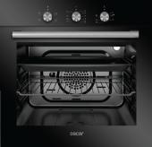 Oscar 8055 Siyah Ankastre Fırın