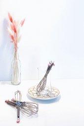 Pembe Nazar Boncuklu 6lı Çay Kaşığı Seti