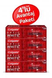 Colgate Optik Beyaz Extra Güç Diş Macunu 75 Ml X 4 Adet