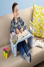 Mavi Çok Amaçlı Çocuk Hobi Masası-2
