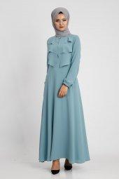 Puane Kadın Çağla Elbise 12026