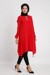Loren Kadın Kırmızı Tunik 20097