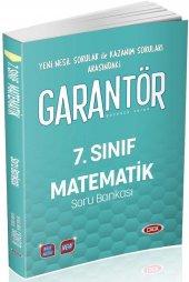 7. Sınıf Matematik Garantör Soru Bankası Data...
