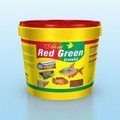 Ahm Red Green Granulat Karma Balık Yemi Kova 3 Kg