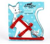 Doggie Ayarlanabilir Kedi Göğüs Gezdirme Takımı...