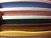 çamaşır Sepeti Dantel Desenli Yuvarlak