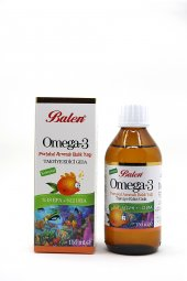 Balen Omega 3 Portakal Aromalı Balık Yağı 150...