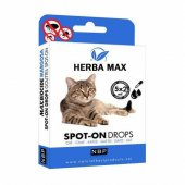 Herbamax Biocide Bitkisel Kedi Ense Damlası Dış...