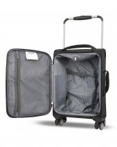 IT Luggage Kabin Boy Kumaş Valiz Siyah & Beyaz 2058-4