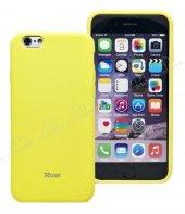 Roar Jelly iPhone 6 / 6S Sarı Silikon Kılıf